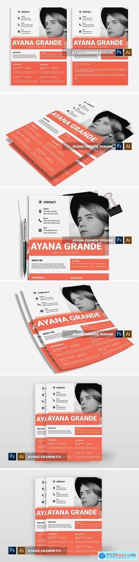 Ayana Grande - CV & Resume