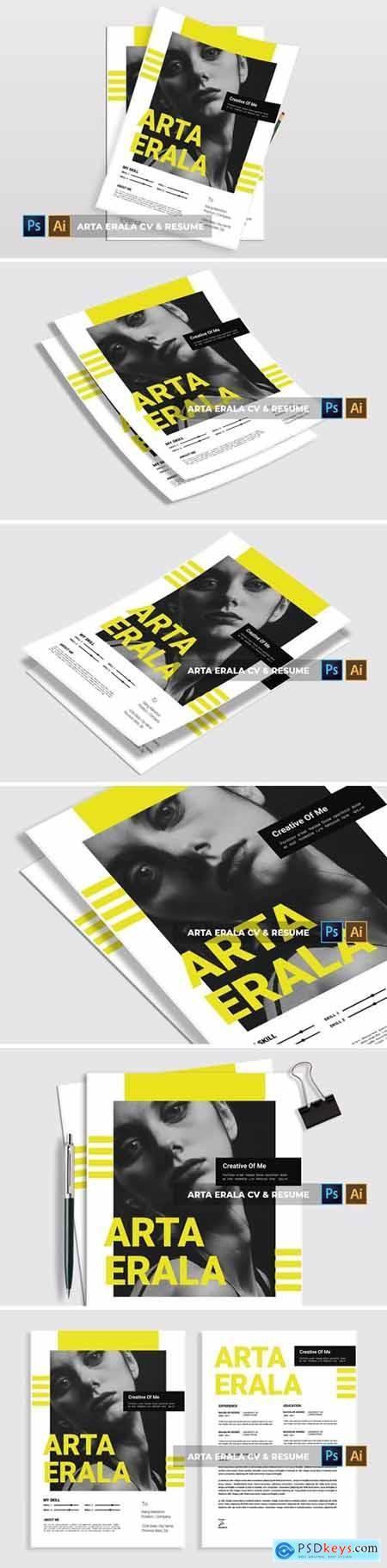 Arta Erala - CV & Resume