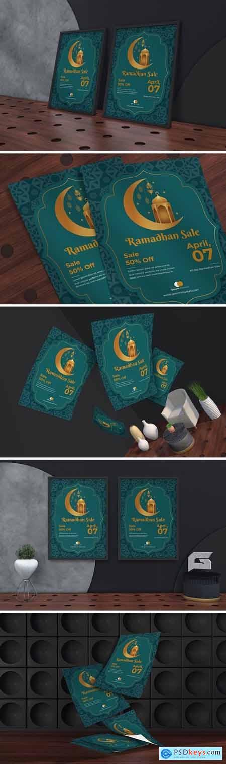 Ramadan Sale Flyer & Poster Template