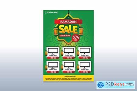 Ramadan Sale Flyer Template Design