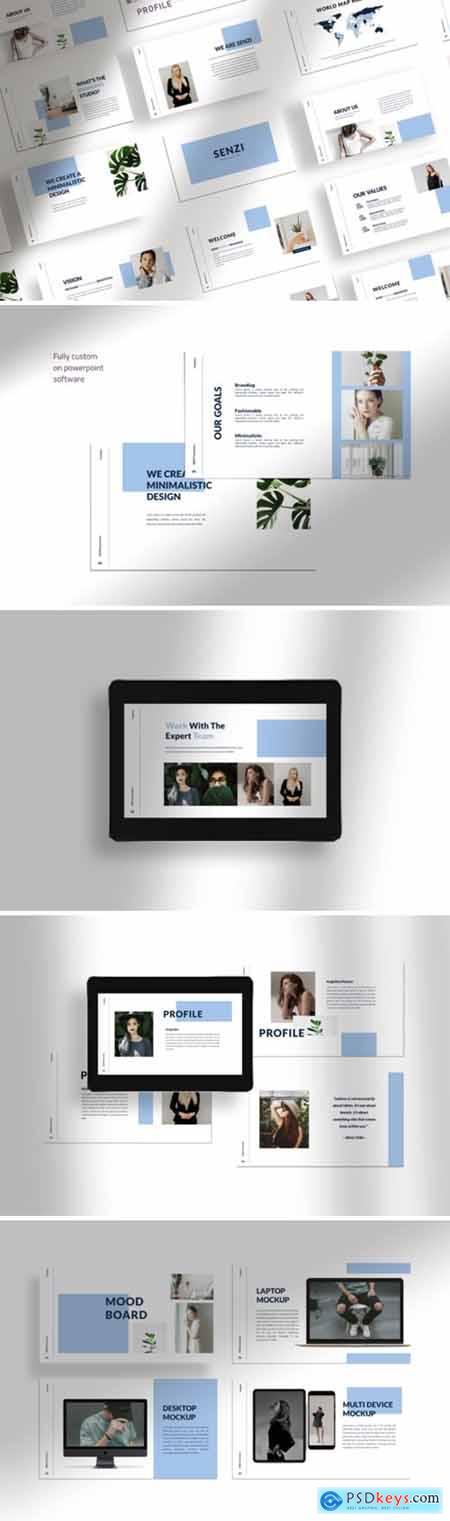 Senzi - Presentation Template 3783521