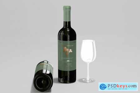 Wine Bottle Mockups 4678501
