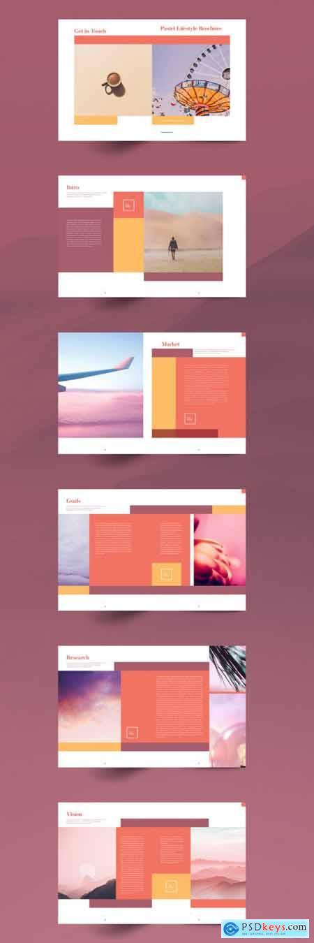 Pastel Brochure Layout 336426505