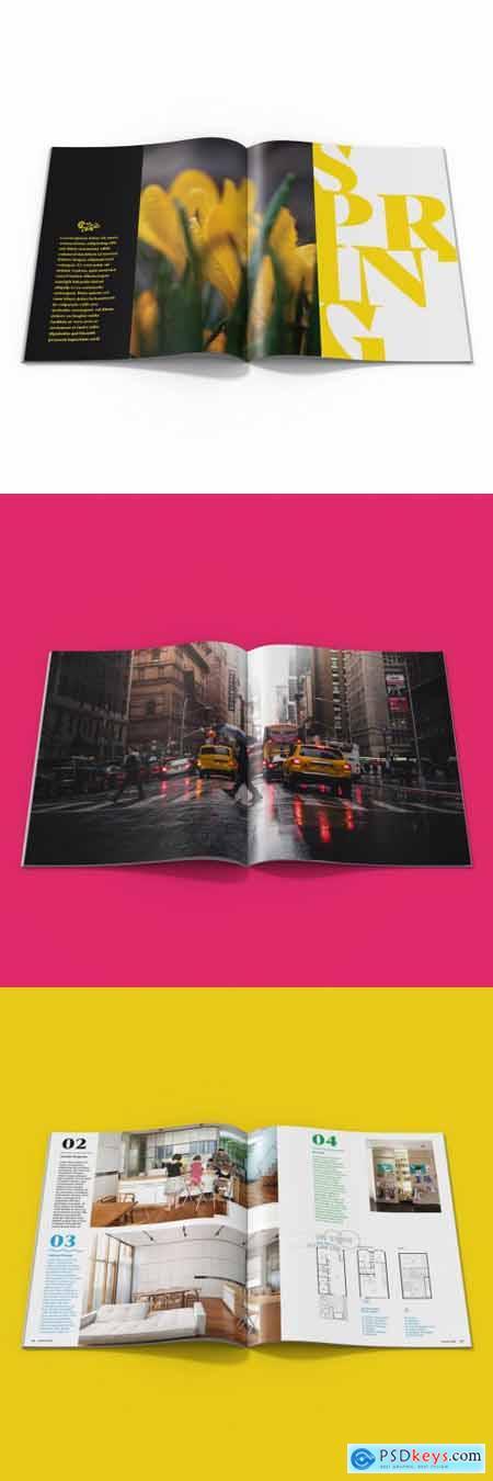 Magazine Mockup 336453789