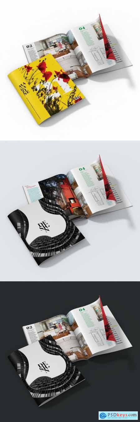 Magazine Mockup 336453473
