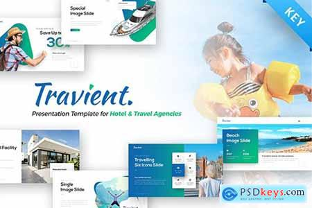 Travient Hotel & Travel Agency Keynote Template