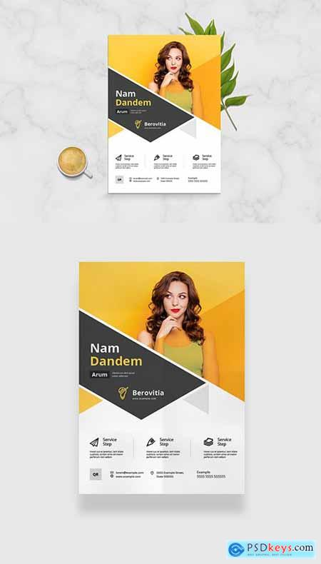 Minimal Clean Flyer Layout 333227154
