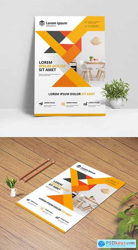 Clean Business Flyer Layout 334526197