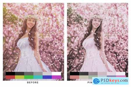 50 Sakura Light Lightroom Presets and LUTs 4783167
