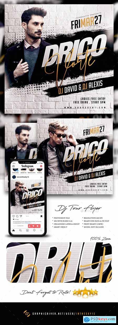 DJ Tour Flyer 25757577