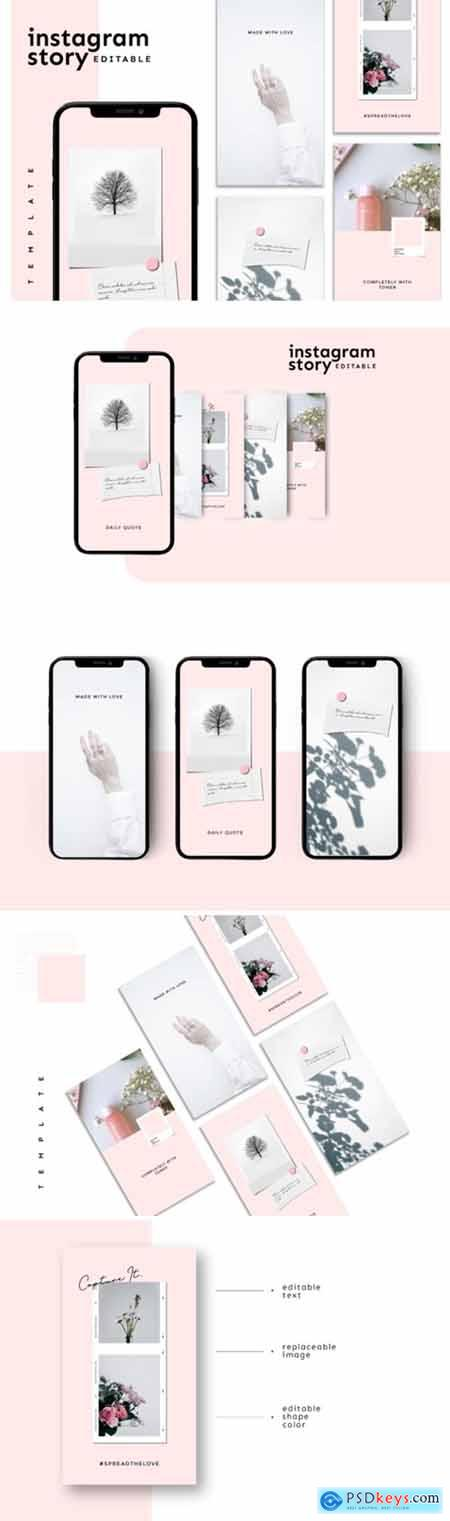 Instagram Story Template 3826817
