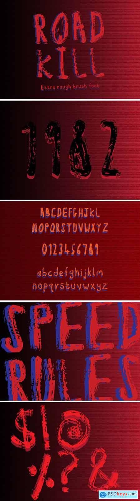 Road Kill Font