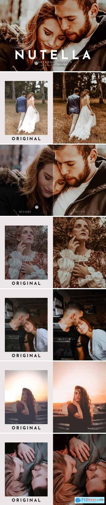 Nutella Lightroom Presets Pack 3826604
