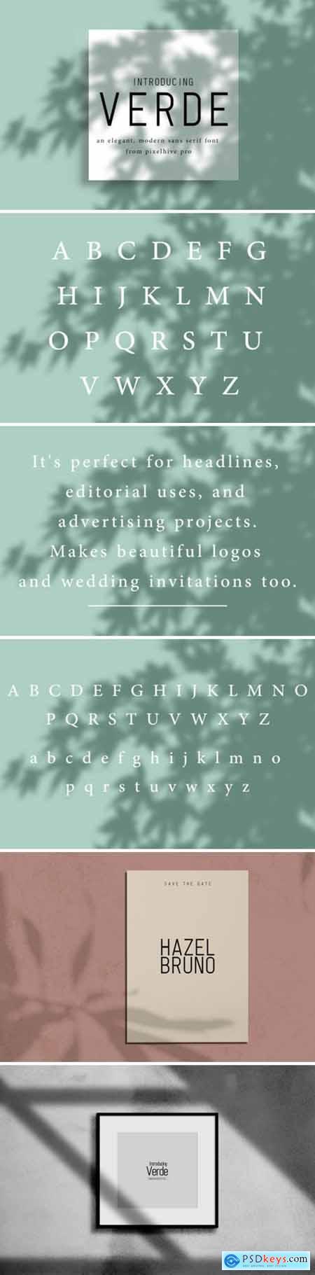 Verde Font