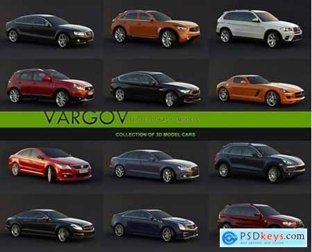 Vargov Collection of 3d Models Car
