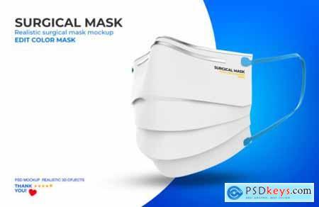 Surgical mask mockup 2