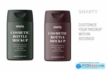 Shampoo bottle mockup 4658697