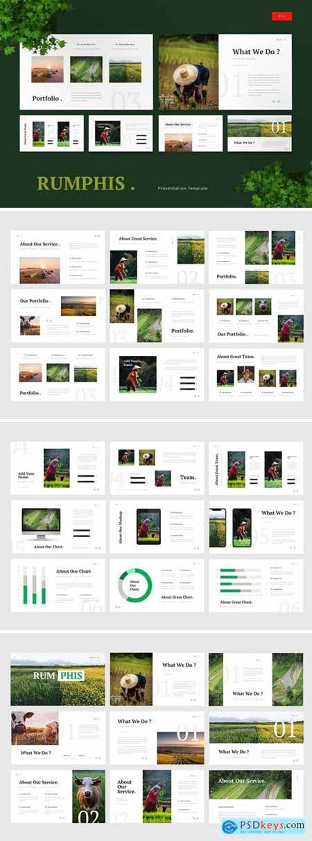 Rumphis - Farming Agriculture Powerpoint, Keynote and Google Slides Templates