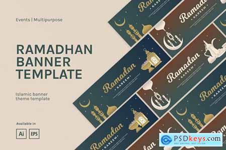 Ramadhan Banner Template