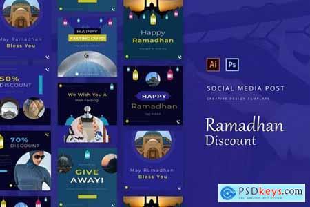 Ramadhan Discount Instagram Post