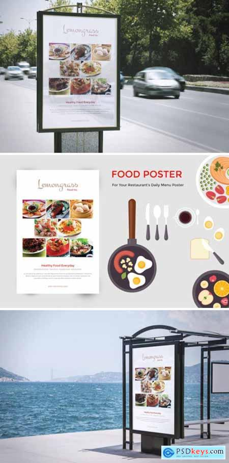 Food Menu Display Poster 3834213