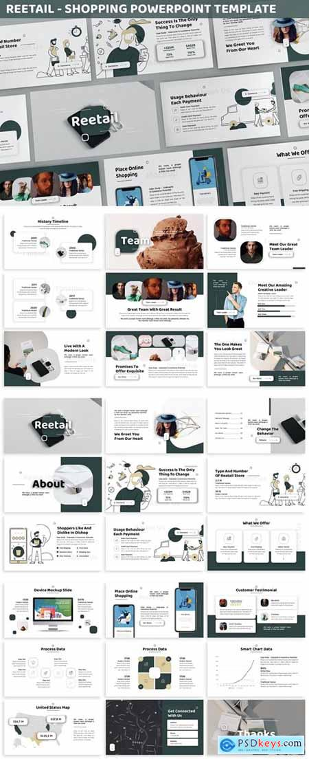 Reetail - Shopping Powerpoint Template