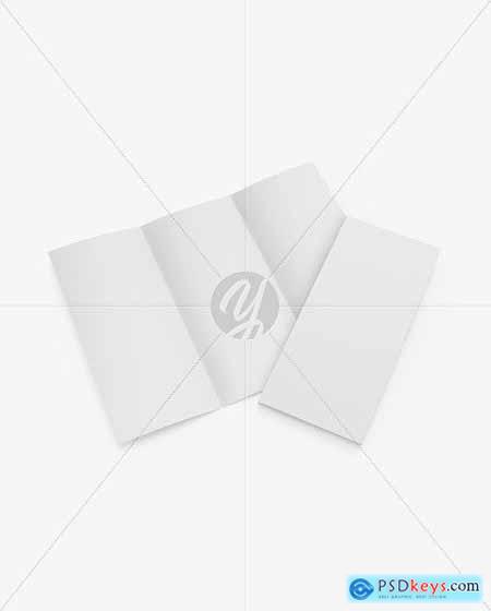 Two Paper Brochures Mockup 56628