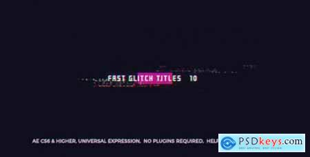 Fast Glitch Titles 20550021