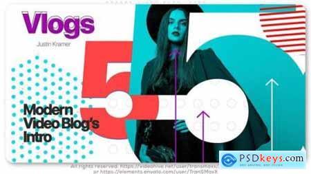Modern Video Blog Intro 26350755