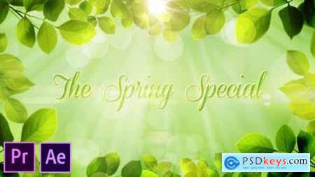 The Spring Special Promo Pack Premiere Pro 26322422