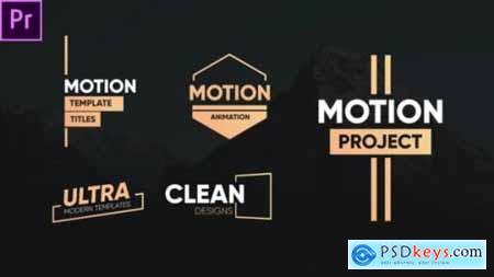 Clean Motion Titles-Premiere Pro 26342522