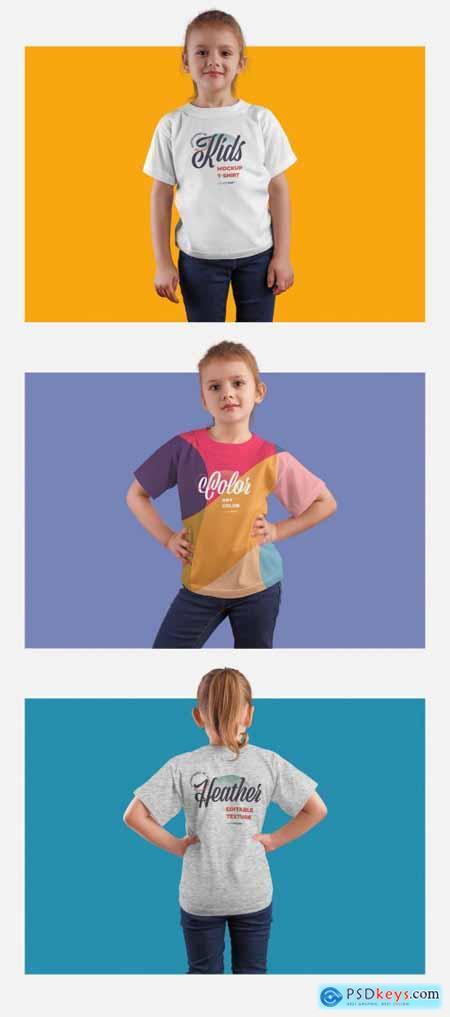3 Kids T-Shirt Mockups 332470962