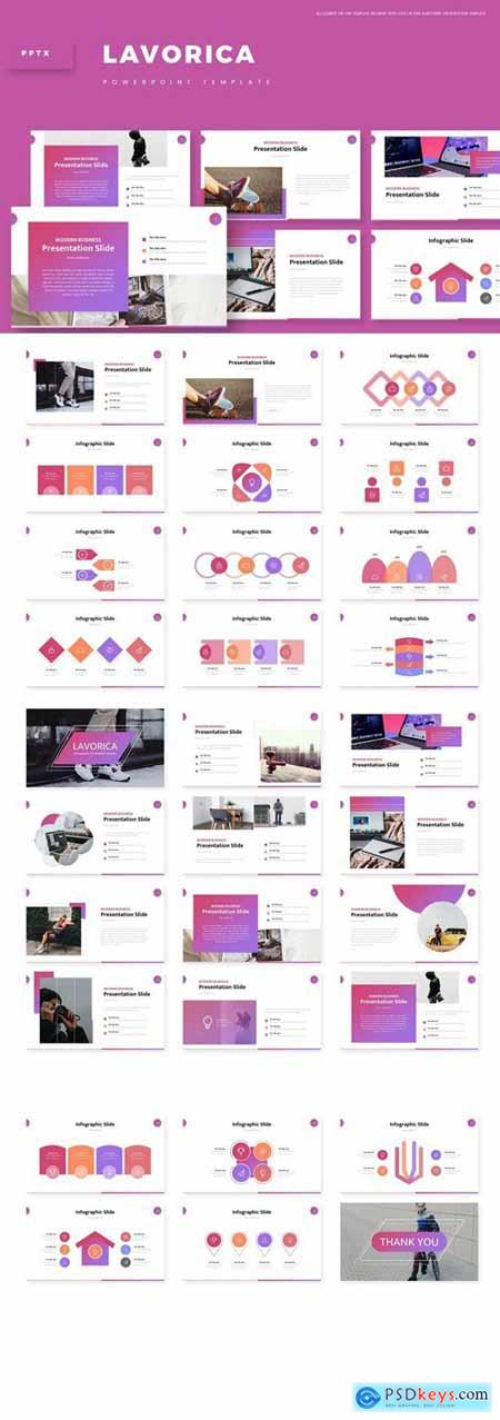 Lavorica Powerpoint, Keynote and Google Slides Templates