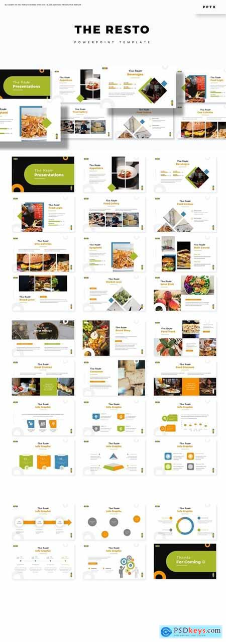The Resto - Powerpoint Template