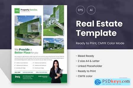 Stylist Real Estate Marketing Flyer 01