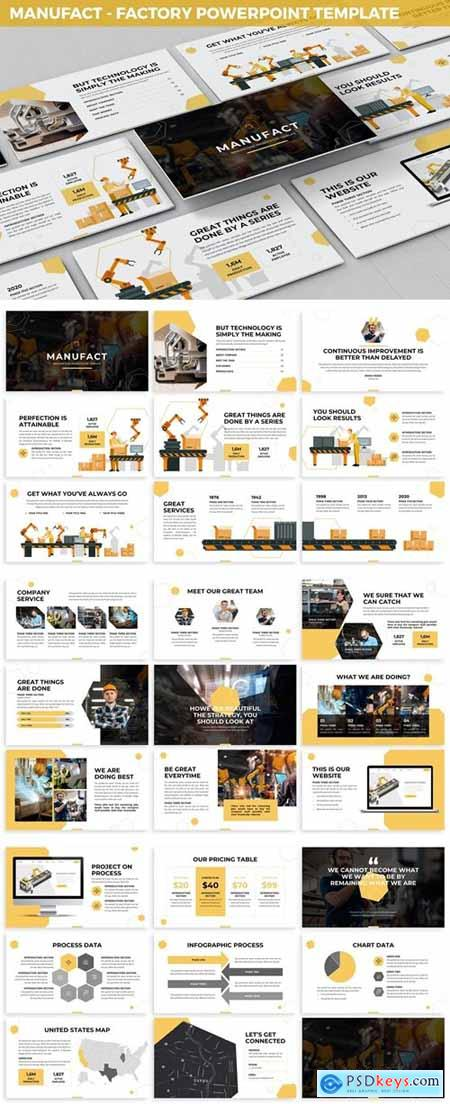 Manufact - Factory Powerpoint Template