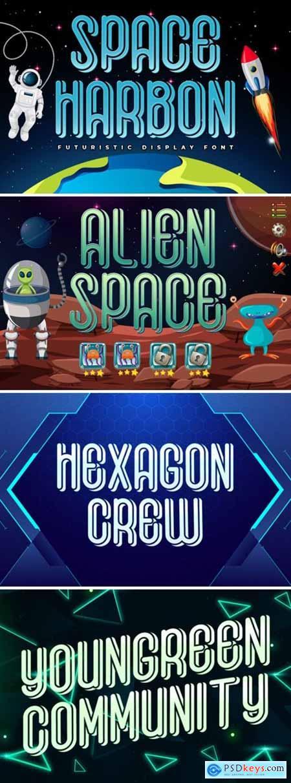 Space Harbon Font