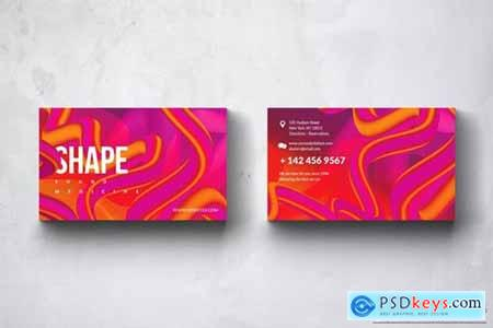 Shape Business Card Design