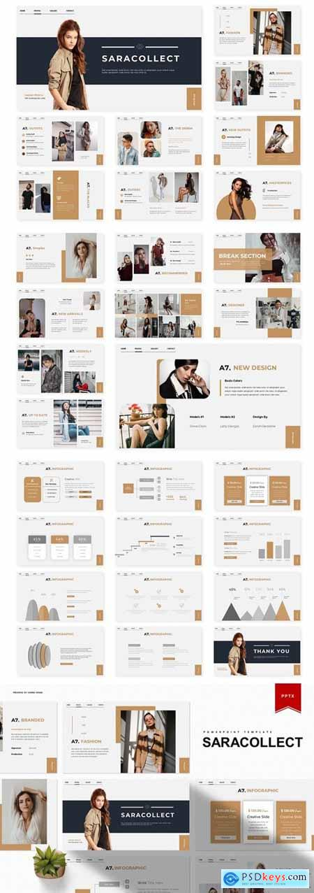 Saracollect Powerpoint, Keynote and Google Slides Templates