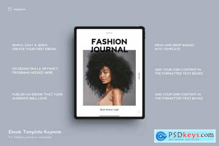 EBOOK Template Fashion 22 Pages 4630374