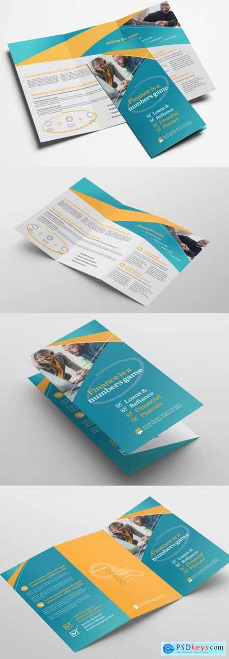 Business Trifold Brochure Layout 338902357