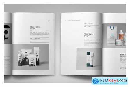 Graphic Design Portfolio Template