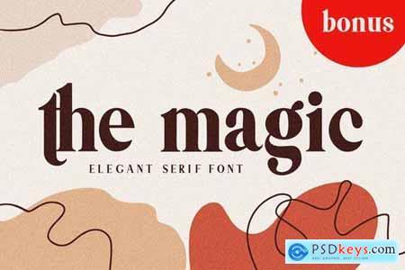 Themagic Serif Font + Bonus