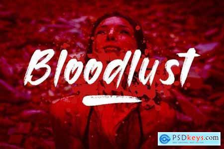 Bloodlust - Font