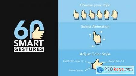 60 Smart Gestures 22602829