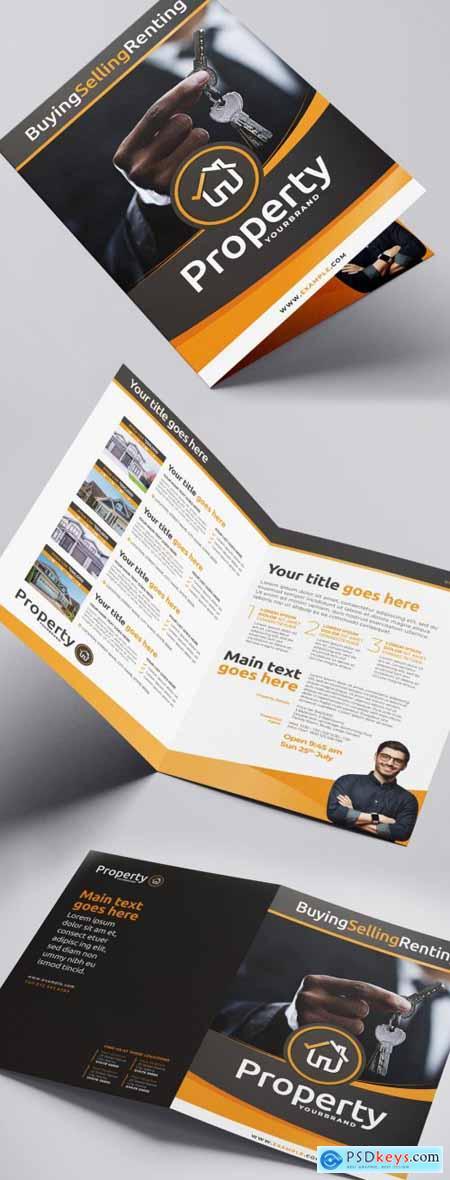 Real Estate Brochure Layout 338456560