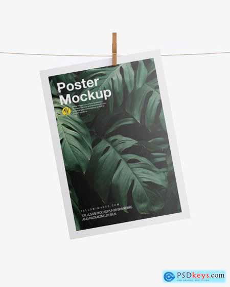 Poster w- Pin Mockup 58818