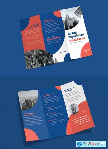 Trifold Brochure Layout 339995167