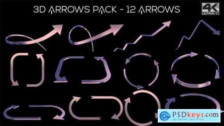 3D Arrows Pack 11772620