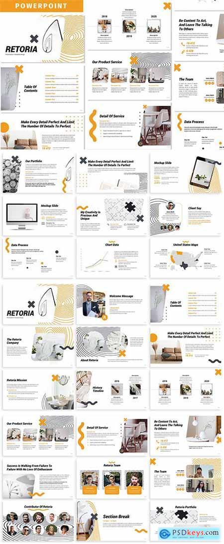 Retoria - Business Powerpoint Template